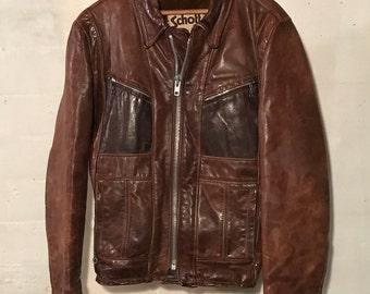 8a0115e46 Schott bomber jacket   Etsy