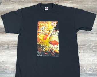 Vintage 90/'s Toad The Wet Sprocket Dulcinea Tour T Shirt size XL W 24 x L 30.5 Counting Crows Gin Blossoms Hootie /& The Blowfish
