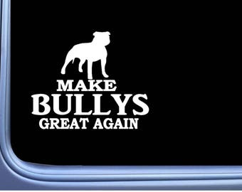"Yours Mine pit bull Sticker *G934* 8/"" vinyl american bully pitbull apbt amstaff"