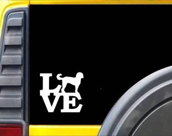 Dalmatian Lifeline I676 8 inch Sticker Heartbeat Decal