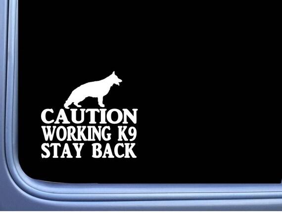 K9 Service Dog On Board V2 Golden Retriever Dog Breed Silhouette Custom Vinyl Decal Sticker Car Window Decal K In 2020 Custom Vinyl Decal Service Dogs Vinyl Decals