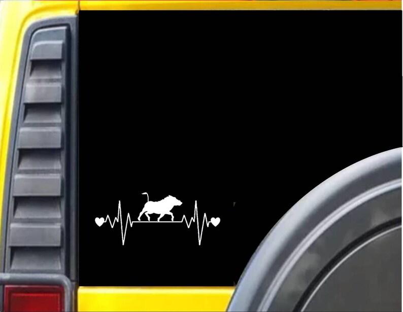 Warthog Lifeline Window Decal Sticker *I665*