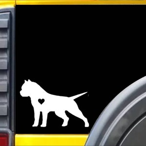 "Labrador kissed L862 8/"" dog window decal sticker"