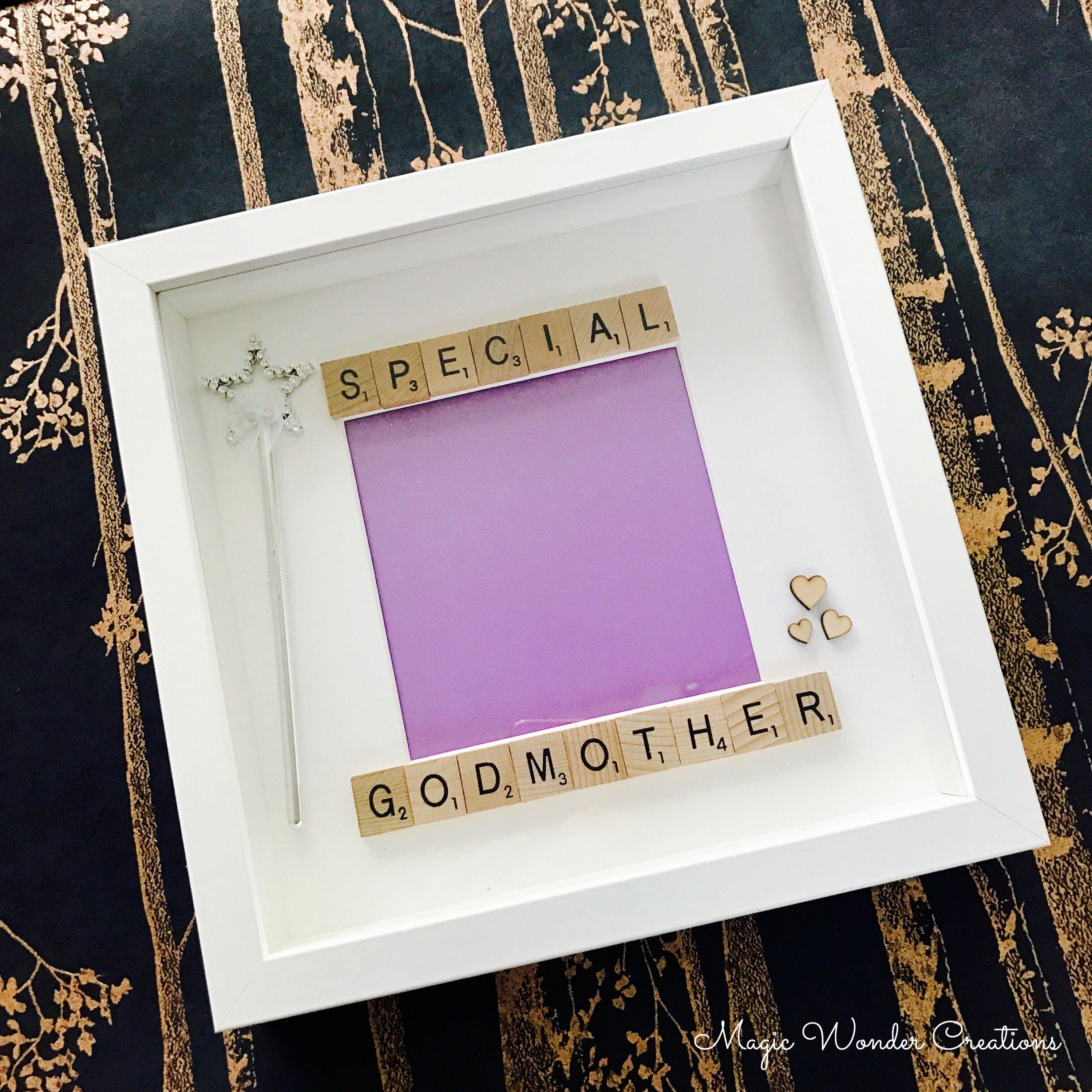 Beautiful Godmother Frame, Personalised Godmother Gift, Special ...