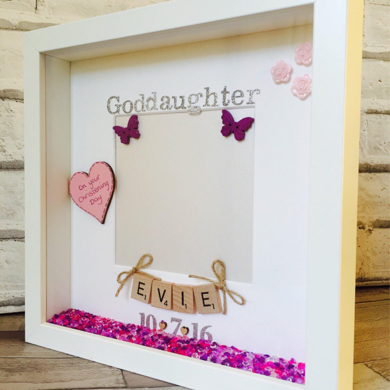 Goddaughter Frame Goddaughter Gift Personalised Godmother | Etsy