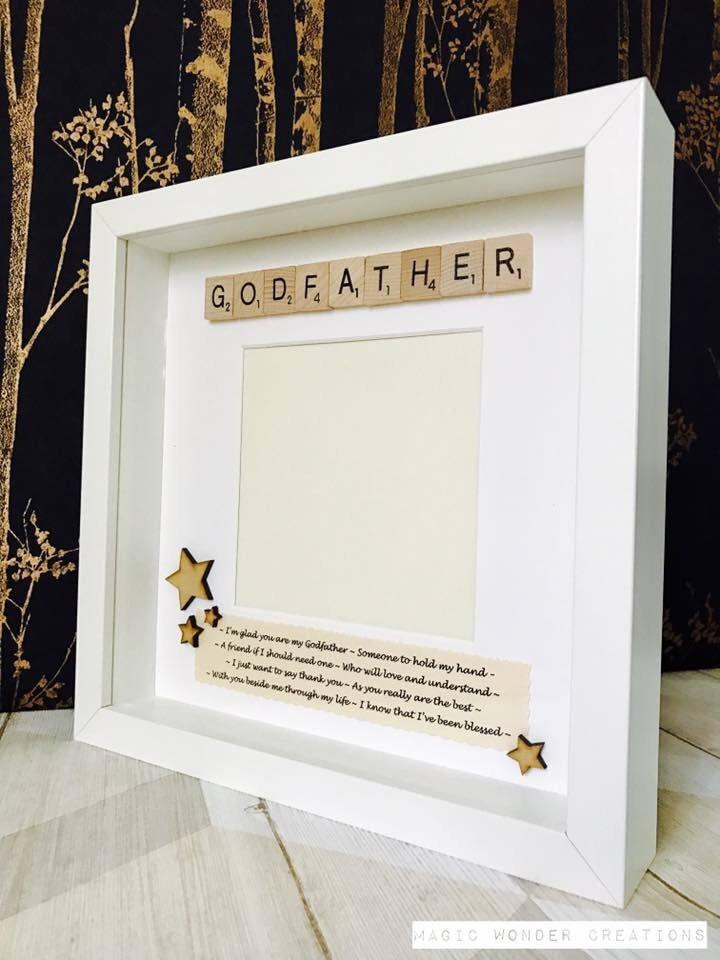 Godfather Gift, Personalised Godfather Gift, Personalised Godfather ...