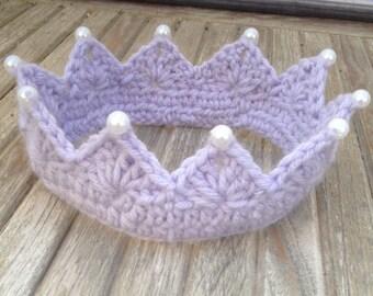 Newborn or Baby Princess Crown