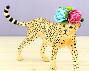 Cheetah Cake Topper/Safari Party Cake/Safari Animal Cake Toppers/Party Animals