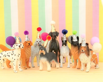 Large Dogs Cake Topper/Pets Party Cake/Pets Animal Cake Toppers/Party Animals/Dog Party Cake