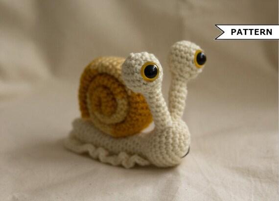Crochet Amigurumi Snail Patterns | 410x570