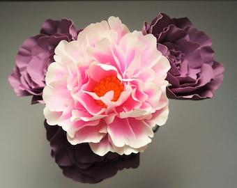 Shrub Rose - Paper Flower - Digital Delivery - Video Tutorial - SVG - PDF - Silhouette - Cricut - Brother - DIY - Wedding Bouquet - Bridal