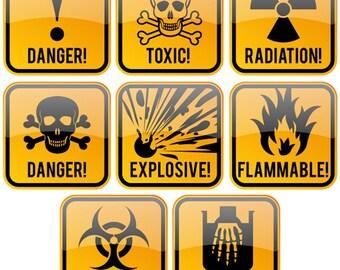 toxic symbol etsy