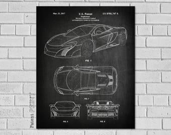 Car Poster Etsy
