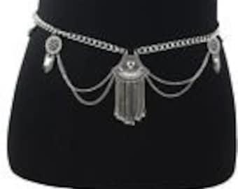 Tribal belly dance belt
