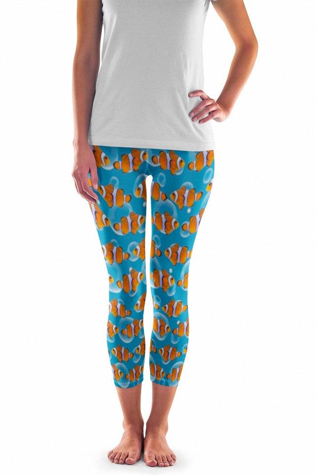 Fisch Leggings Clown Fisch Leggings Fisch Kostüm | Etsy