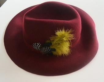 Hat Burgundy