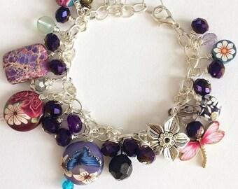 The Bluberry Garden Bracelet