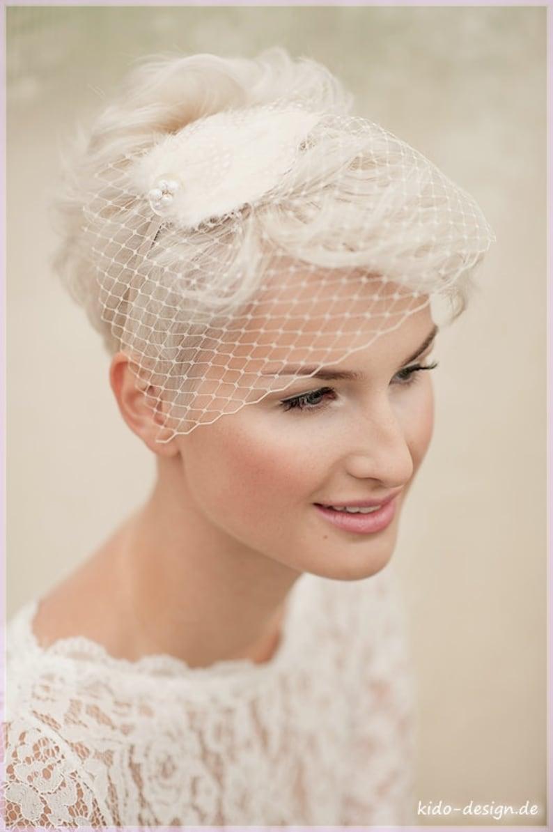 Brautschmuck kurze Haare
