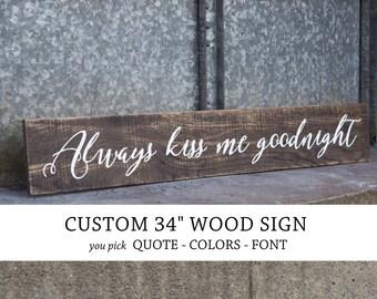CUSTOM WOOD SIGN, custom quote on wood, custom pallet sign, personalized, lyric, farmhouse decor pallet art custom verse sign, phrase