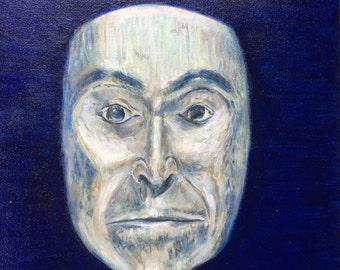 Mohawk Indian Mask Painting