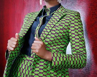 KQ tailored suit