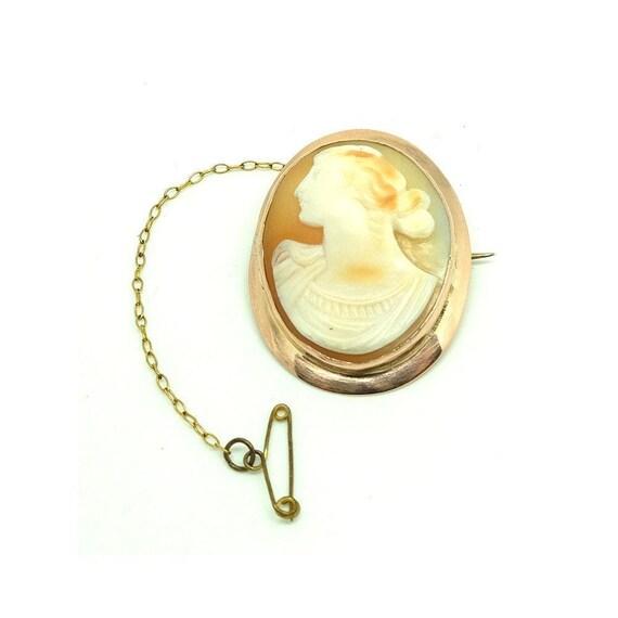 Antique Victorian Brooch | Cameo Brooch | 9ct Ros… - image 7