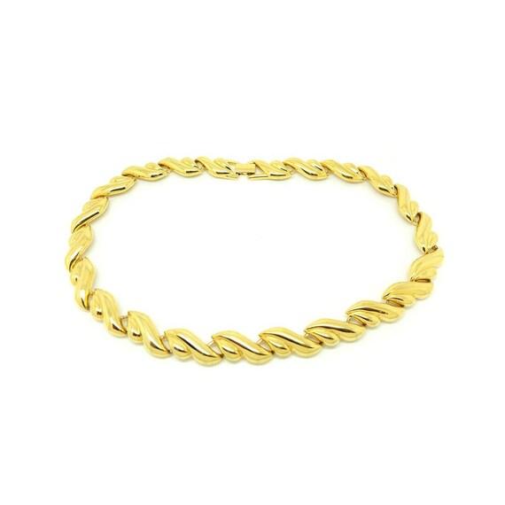 Vintage 1980s Gold Chain   Napier Gold Chain   Gol