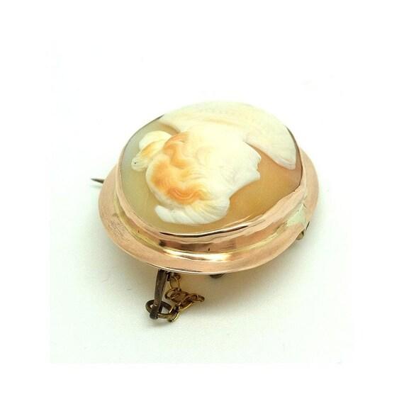 Antique Victorian Brooch | Cameo Brooch | 9ct Ros… - image 8