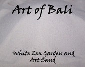Authentic Art of Bali brand Zen Garden Sand - 3 LBS Fine White Sand