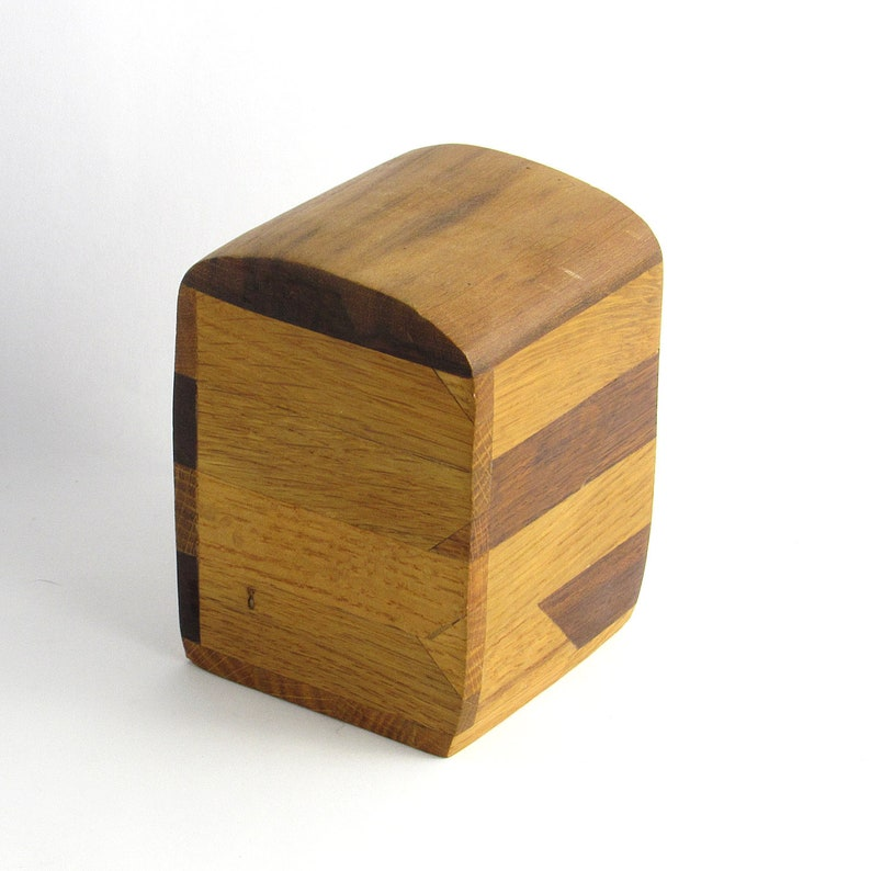 Hand Made Solid Wood Musical Chime Box Childs Toy