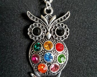 Owl Necklace // Owl Gift