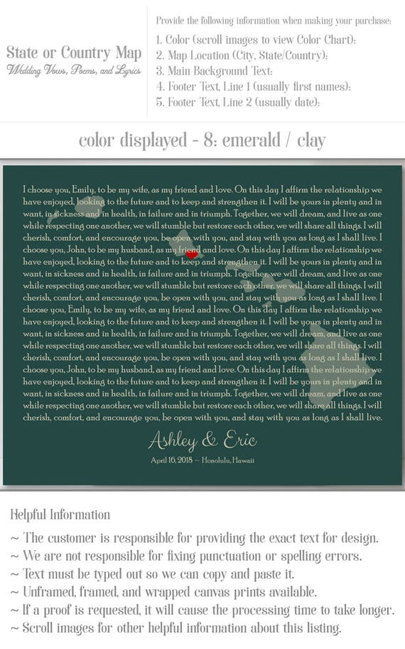 Wedding Song Anniversary Gift Song Lyrics Anniversary Gift Etsy