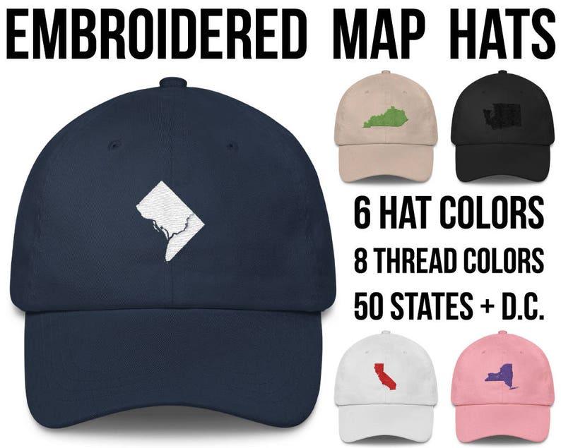 c29ae9de Washington DC Hat Washington Dc cap Washington Dc Baseball Hat | Etsy