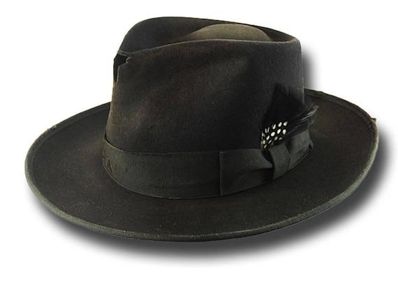 f12217c19bf51 Fedora Johnny Depp Hat Dusty Customized Sergio Anzani Melegari