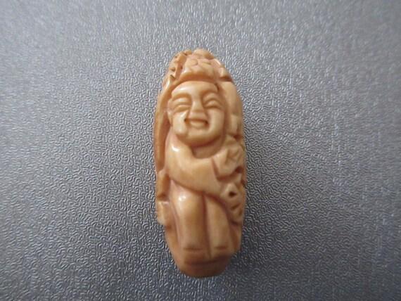 Camel Bones Carved Bead Doll 1pc Etsy