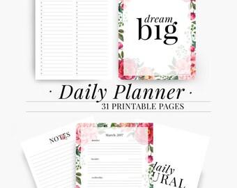 2017 planner weekly goal planner goal planner goal tracker etsy