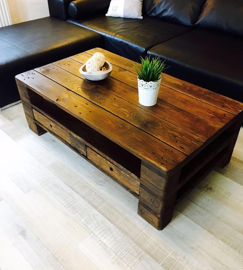 Table de palettes meubles jardin/balcon ou salon basse 120 x   Etsy