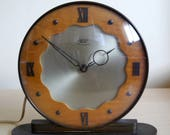 Wonderful Art Deco style Smiths Sectric mantle clock, 1950 39 s