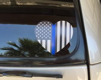 Fallen Officer - Car Decal