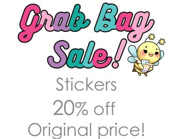 Sticker Grab Bags