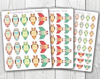 Owl Stickers AV003