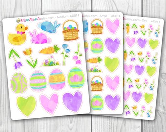 Easter Stickers AD014