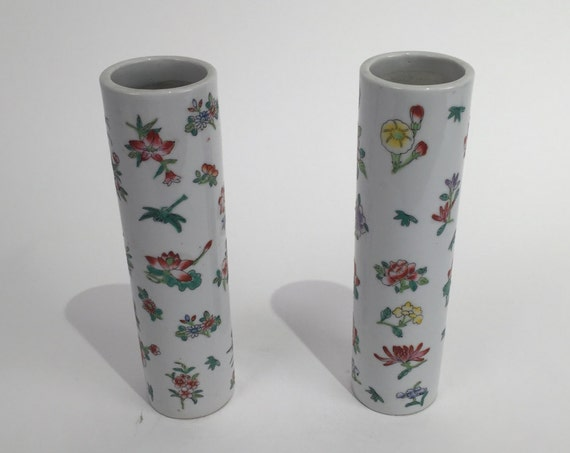 Pair of antique ceramic vase
