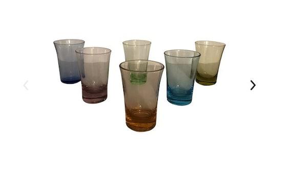 Vintage Mid-Century Shot Glass - Set of 6