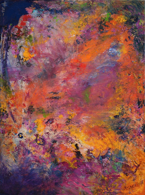 """Bruce Mishell, """"Time, Travel, Explosion"""" 30"""" x 40"""" Giclee"""