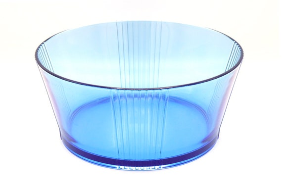 Mid century Italian large bowl and blue shade
