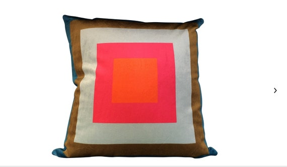 Handmade Modern Geometric Pattern Pillow