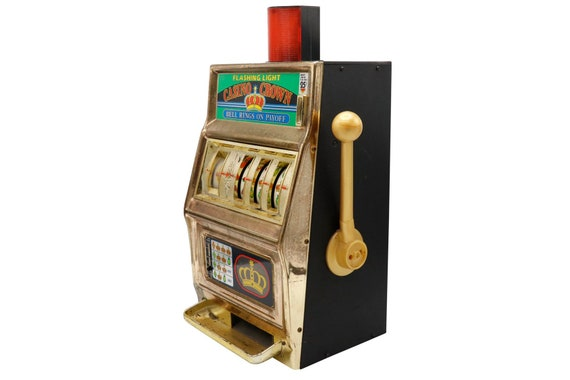 Mid century vintage casino machine