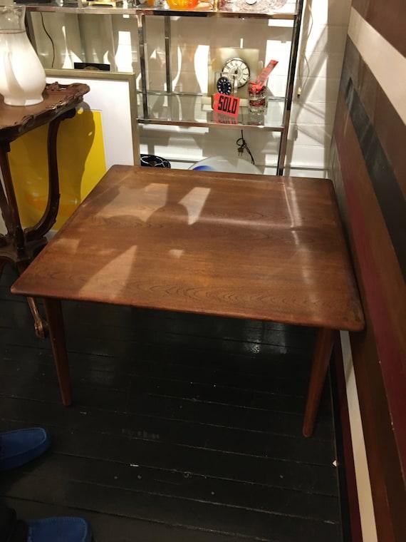 Danish teak Mid-Century Wooden Modern Coffee Side Table