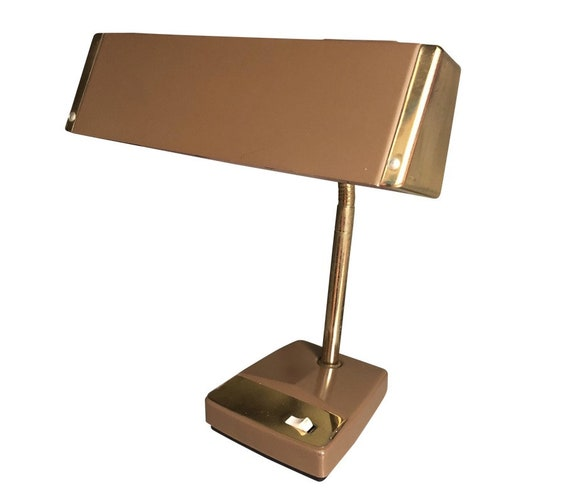Mid-Century Modern Metal Adjustable Desk Lamp